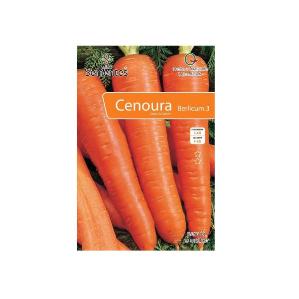 Semente Cenoura à venda na Casa Pinto